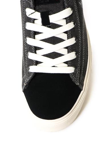 U.S. Polo Assn. Pantofi sport cu garnituri din piele intoarsa Tebio Barbati
