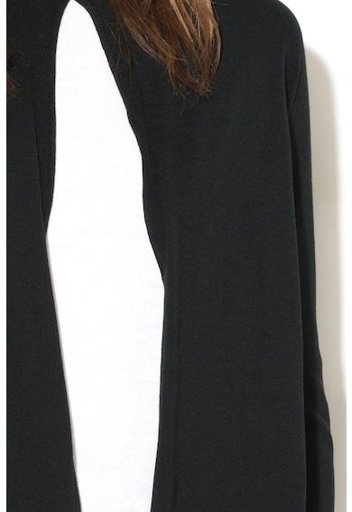 Stefanel Cardigan tricotat fin, din amestec de modal Femei