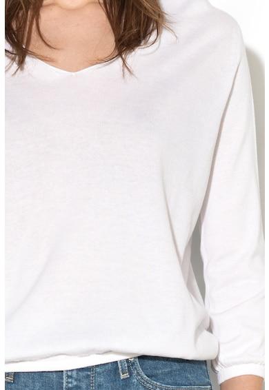 Stefanel Pulover din amestec de modal, cu spate decupat Femei