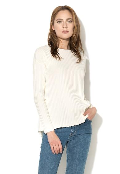 Stefanel Рипсен пуловер с отвори Жени