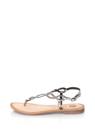 Gioseppo Кожени сандали с плетен дизайн Жени