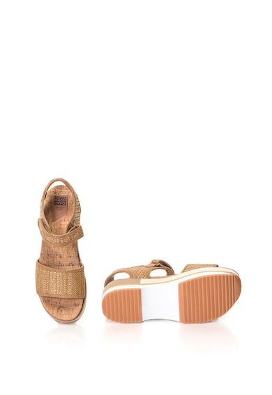 Gioseppo Sandale flatform cu aspect impletit Femei