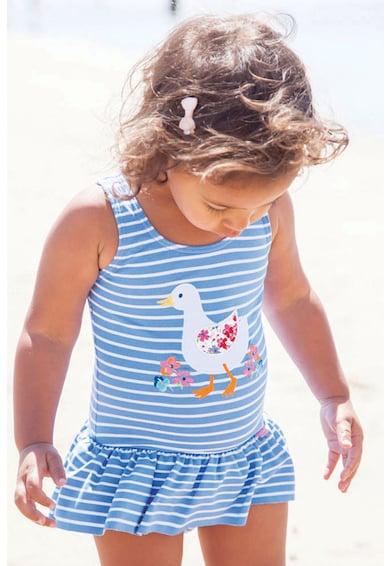 JoJo Maman Bebe Costum de baie intreg cu model in dungi Fete