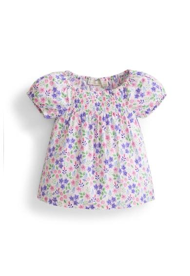 JoJo Maman Bebe Тениска със свободна кройка и флорална шарка Момичета