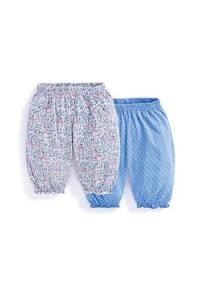 JoJo Maman Bebe Set de pantaloni capri cu imprimeu - 2 piese Fete