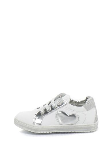 Zee Lane Кожени спортни обувки с метализирани и лъскави детайли Момичета