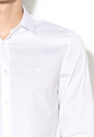 Lacoste Slim fit ing hímzett logóval férfi