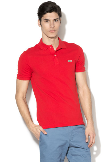 Lacoste Tricou polo slim fit Barbati