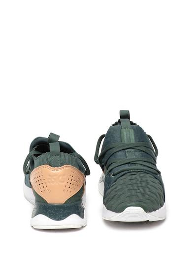 ASICS Tiger Pantofi sport din tricot cu insertii din piele Gel-Lyte V Sanze Femei
