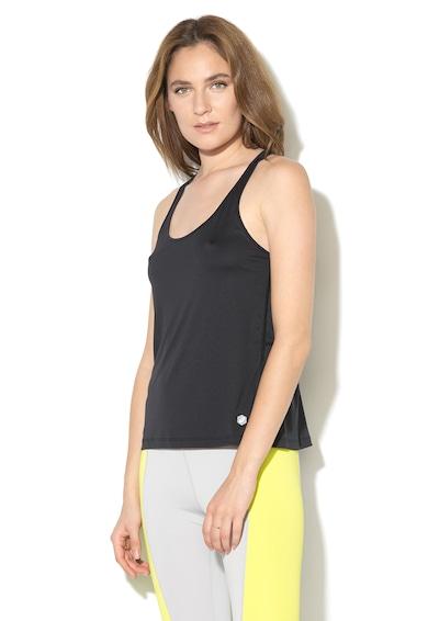 Asics Top cu spate decupat, pentru alergare Femei