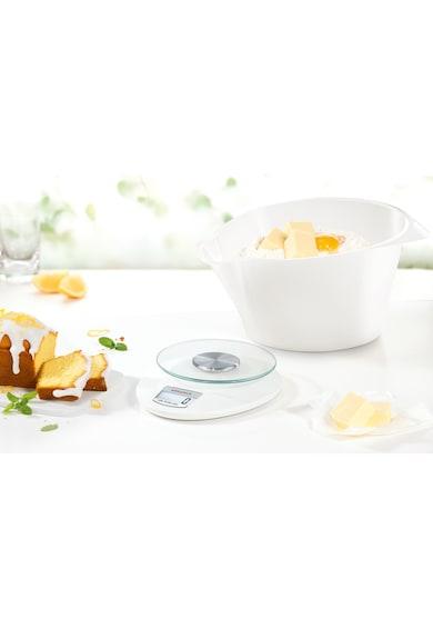 Leifheit Cantar digital de bucatarie Soehnle Roma Plus, 5kg, 1 gr, Alb Femei