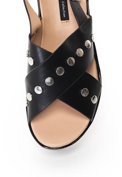 MTNG Sandale cu platforma si aplicatii cu tinte Femei