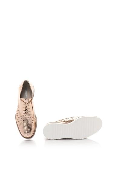 Tosca Blu Pantofi sport din piele cu talpa wedge Disco Femei