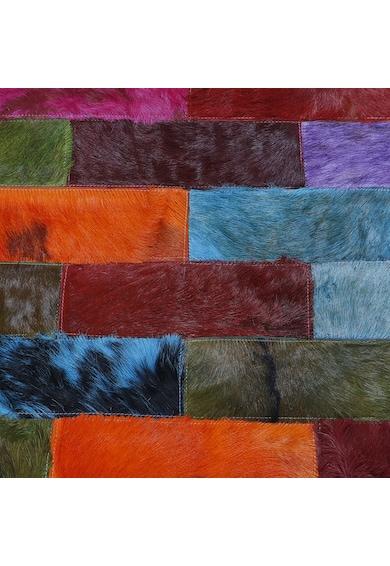 Kring Covor  piele naturala, Multicolor Femei