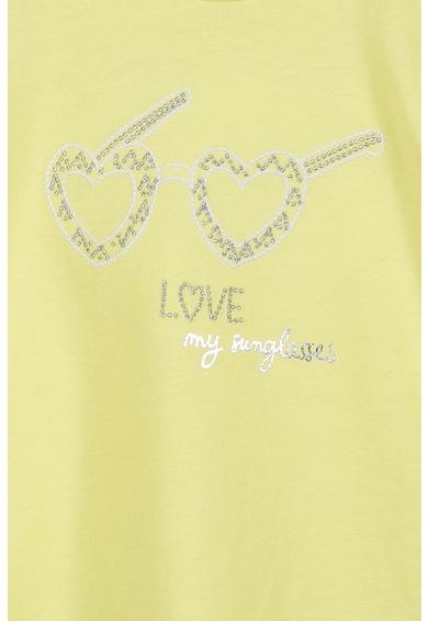Z Kids Тениска с декоративни камъни Момичета
