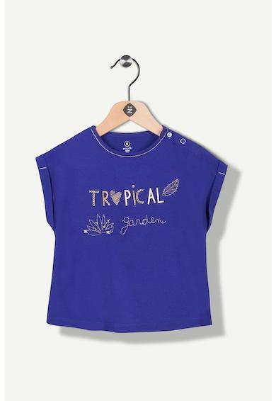 Z Kids Тениска със свободна кройка и бродерия на гърдите Момичета