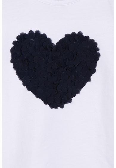 Z Kids Тениска със сърцевидна апликация Момичета