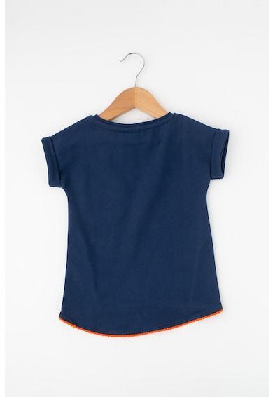 Z Kids Блуза с навити маншети и асиметричен подгъв Момичета