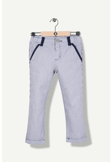 Z Kids Pantaloni chino cu model cu dungi discrete Baieti