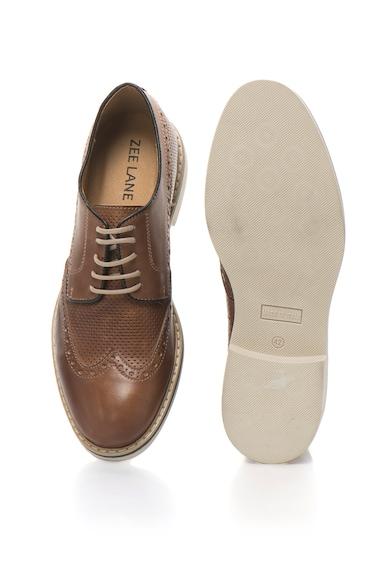 Zee Lane Pantofi Derby de piele cu perforatii Barbati