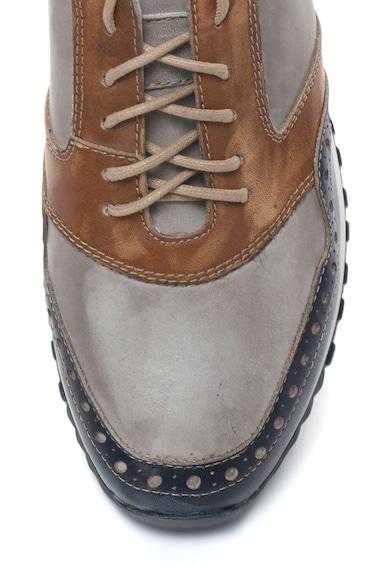 Zee Lane Pantofi sport de piele cu detalii brogue Barbati