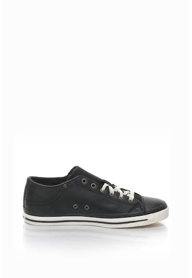 Diesel Exposure sneakers cipő marhabőr anyagbetétekkel férfi