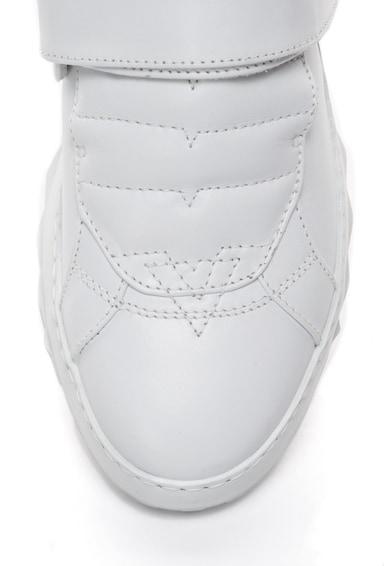 Diesel Кожени спортни обувки S-Studdzer с велкро Мъже