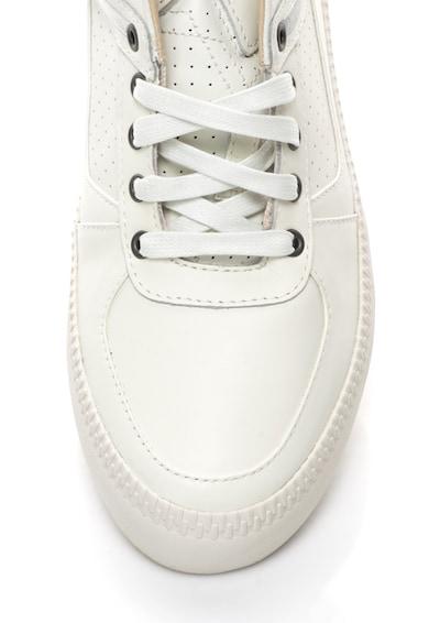 Diesel Pantofi sport de piele cu detalii perforate Spaark Barbati