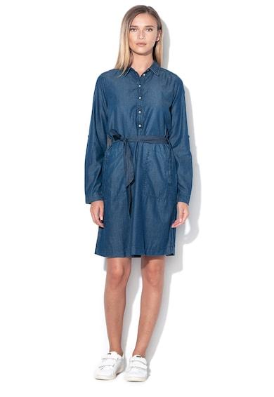 Tom Tailor Chambray ruha levehető övvel női