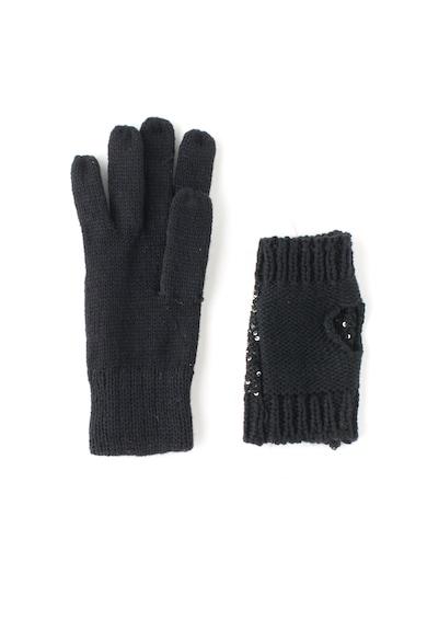 Guess Ръкавици с дизайн 2 в 1 Жени