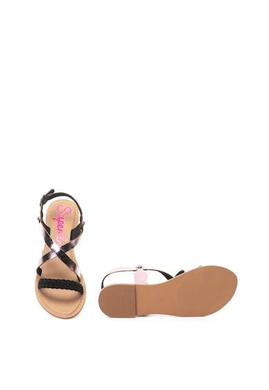 SUPERDRY Sandale slingback de piele Serenity Femei