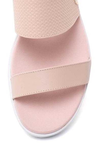Lacoste Natoy bőrpapucs női