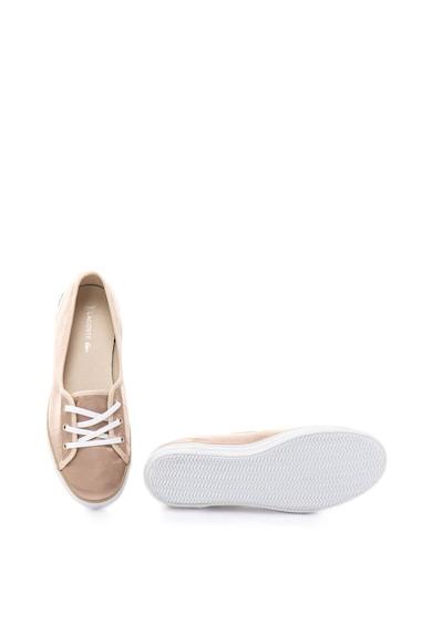 Lacoste Ziane szatén hatású plimsolls cipő női