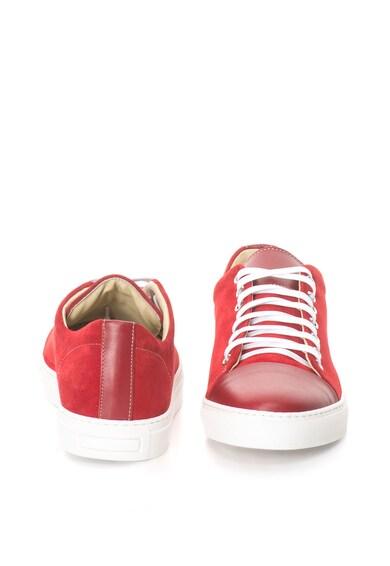 Zee Lane Pantofi casual de piele intoarsa si piele Barbati