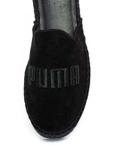 Puma Nyersbőr papucs hímzett logóval - Fenty x Puma női