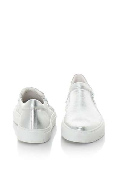 Zee Lane Pantofi sport slip-on din piele cu aspect metalizat Femei