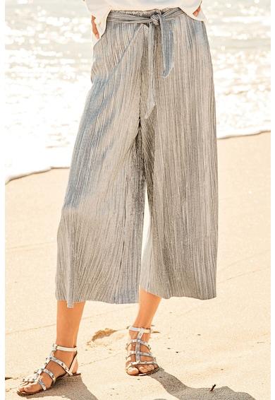 NEXT Pantaloni culotte cu insertii de fir stralucitor Femei