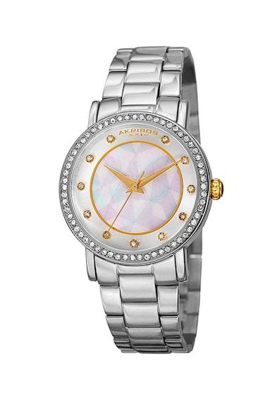 AKRIBOS XXIV Ceas decorat cu cristale Femei