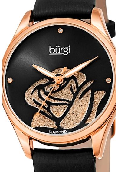 BURGI Аналогов часовник с диаманти Жени