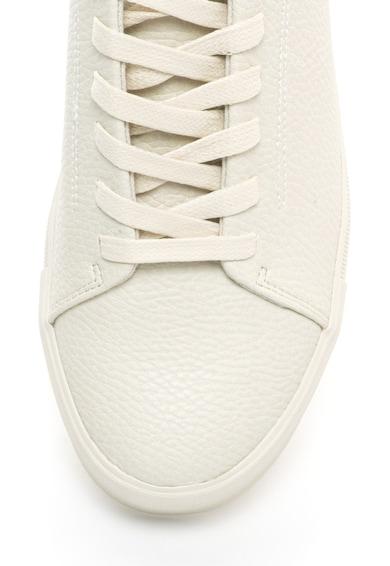 BLEND Pantofi sport din piele sintetica texturata Barbati