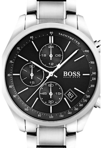 BOSS Ceas cronograf rotund Barbati
