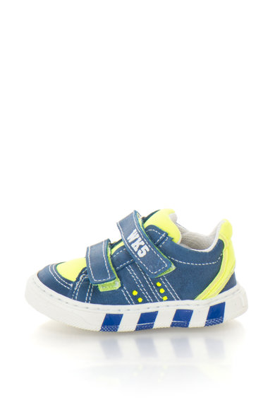 Zee Lane Pantofi sport cu garnituri din piele si branturi detasabile Baieti