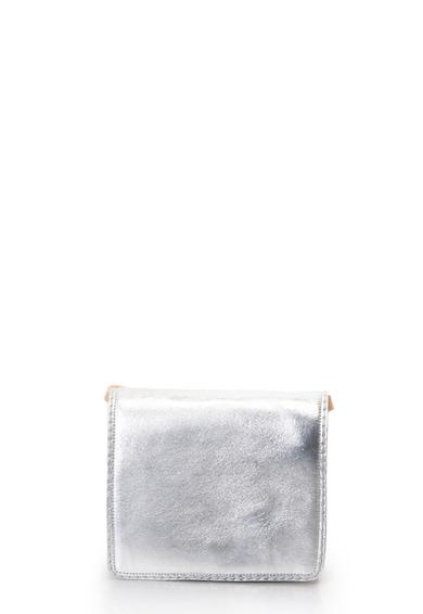Clarks Teddington fémes bőr&nyersbőr keresztpántos táska női