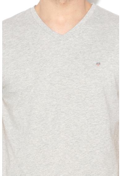 Gant Slim Fit V nyakú póló férfi
