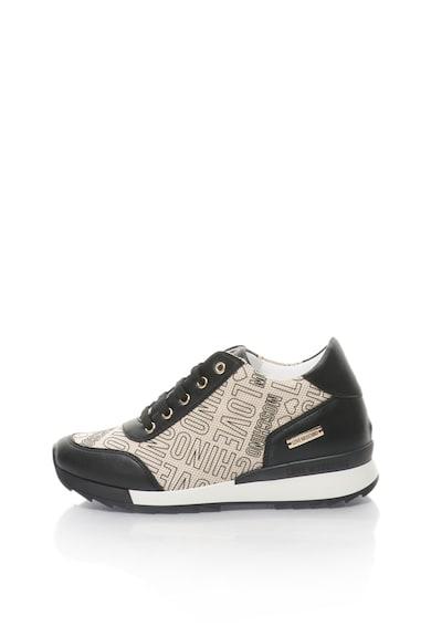 Love Moschino Спортни обувки със скрита скосена платформа Жени