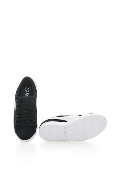 Puma Pantofi sport de piele intoarsa cu imprimeu logo Vikky Femei