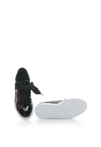 Puma Basket Heart lakkozott sneakers cipő női