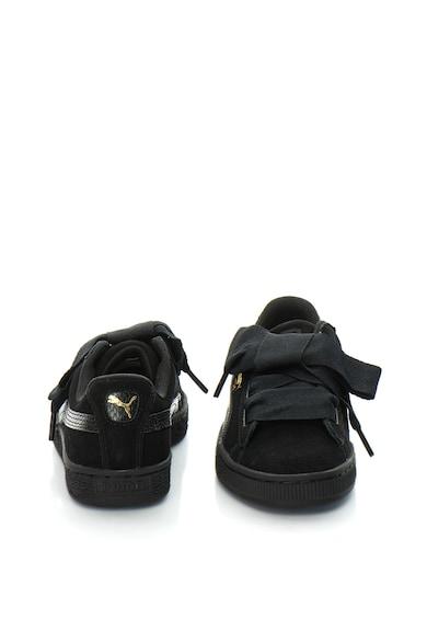 Puma Велуерни спортни обувки Suede Heart Snk Jr Момичета