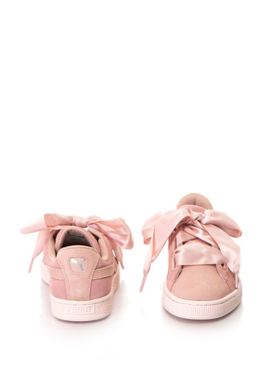 Puma Heart Pebble nyersbőr sneakers cipő szalagos fűzőkkel női