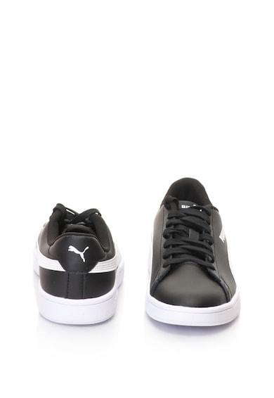 Puma Pantofi sport unisex cu garnituri de piele Smash v2 Barbati